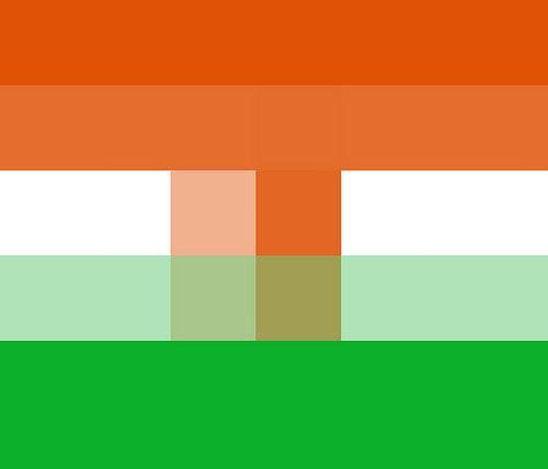Pixelated Flags Quiz