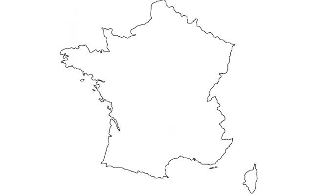 outline of a country